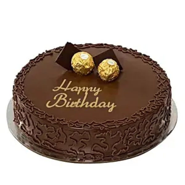 Ferrero Rocher Birthday Cake