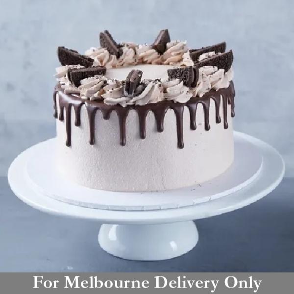Eggless Chocolate Drip Cake