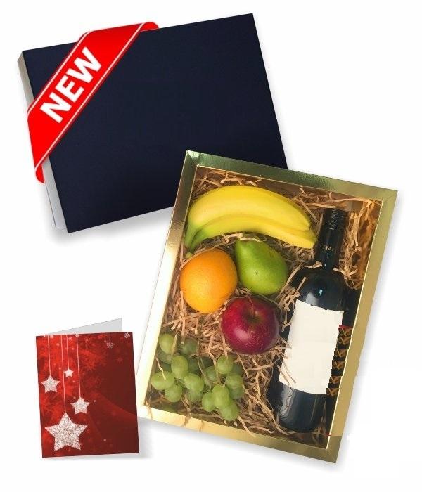 Fruit & Red Wine Gift Hamper