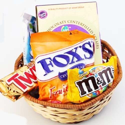 Chocolates Basket Hamper