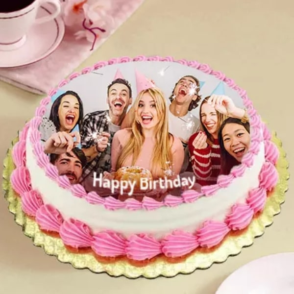 Delicious Birthday Photo Truffle