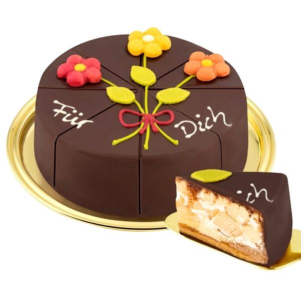 German Pyramid Cake