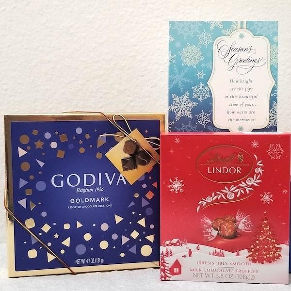 Godiva - Lindor Holidays Gift Set