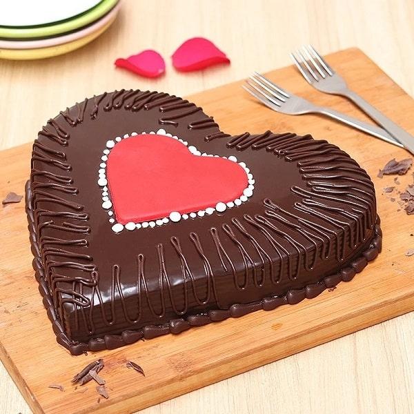 Heart Shaped Truffle Love