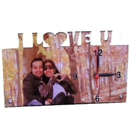 Personalized I love you Clock