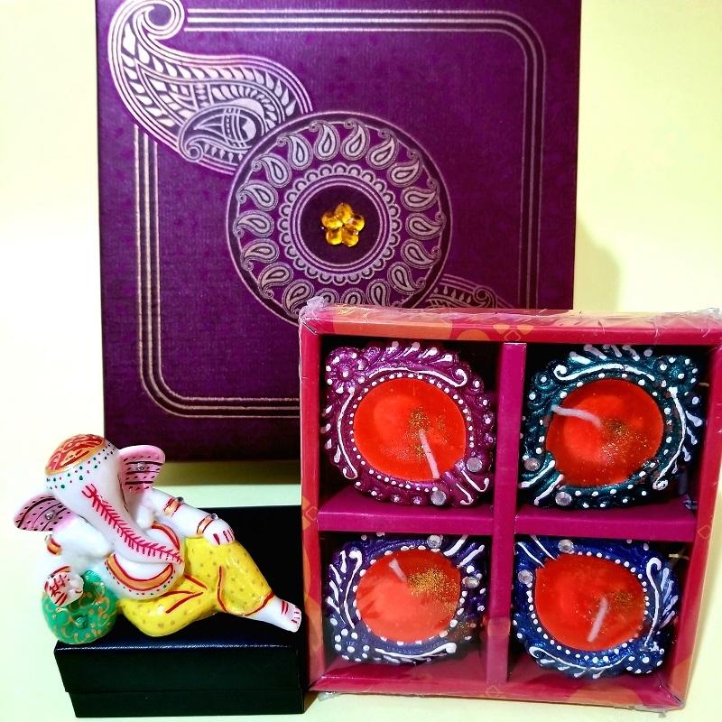 Ganesha & Diya