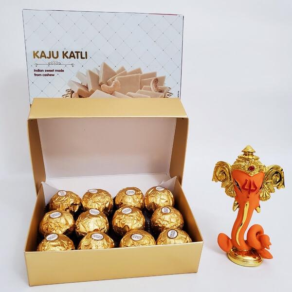 Diwali wishes with Ganesha