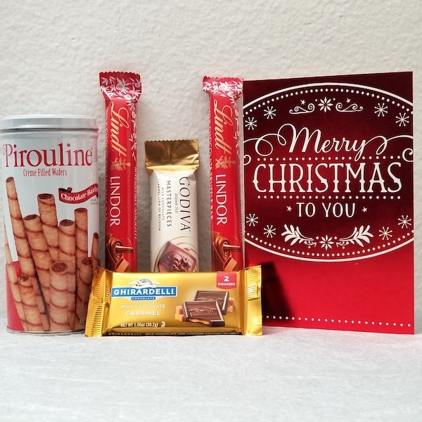 Lindor-Godiva Christmas Gift