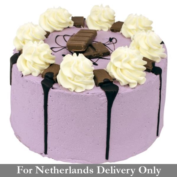 Milka Layer Cake