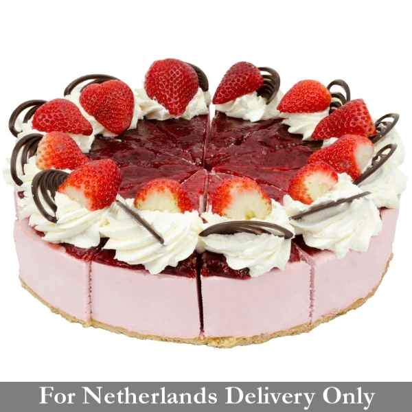 Strawberry Bavarian Cake