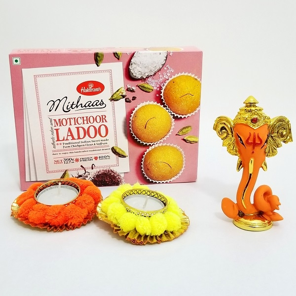 Orange Ganesha Combo