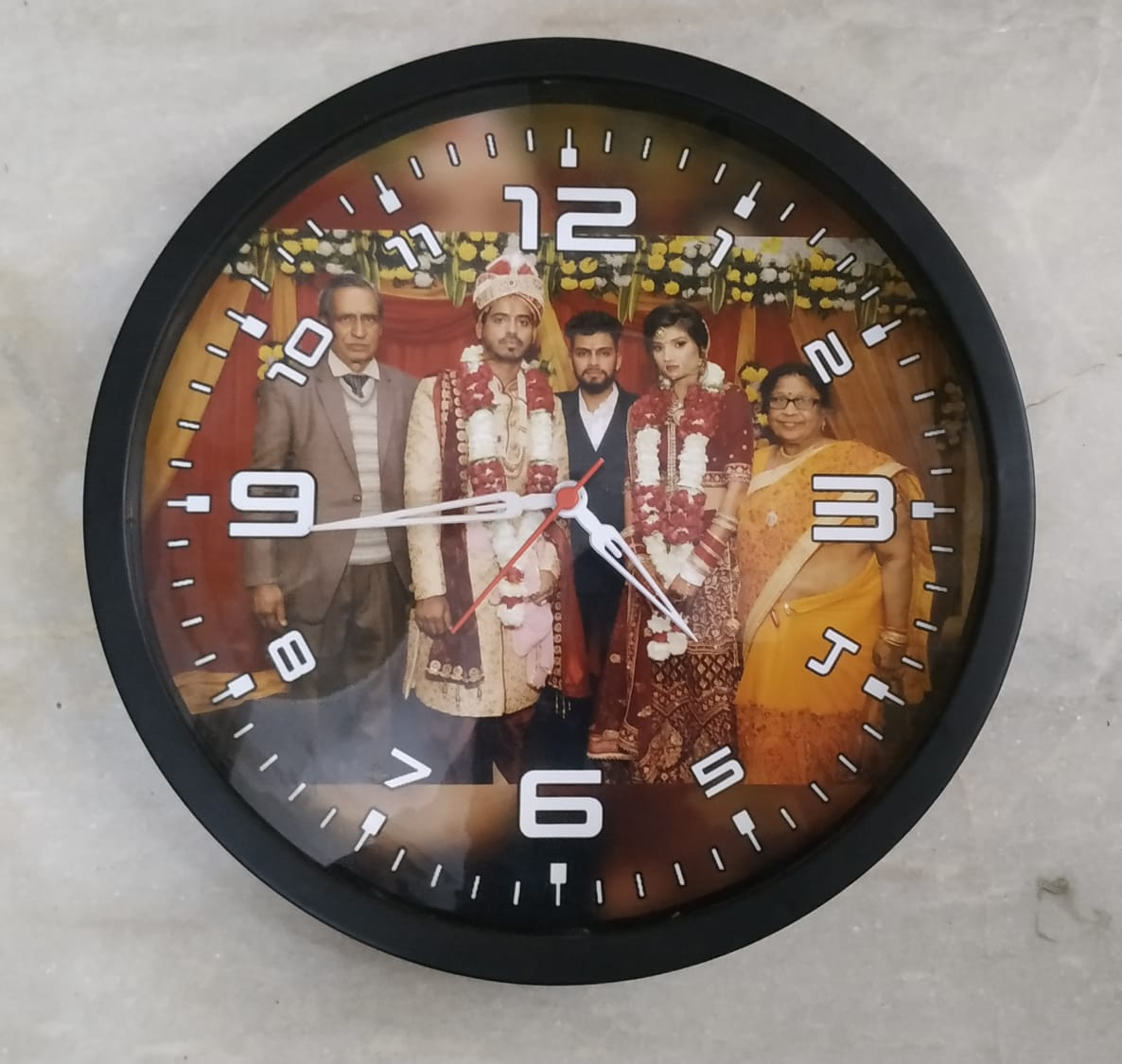 Personalize Round Wall Clock
