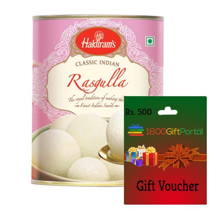 Rasgulla & 1800GP Card