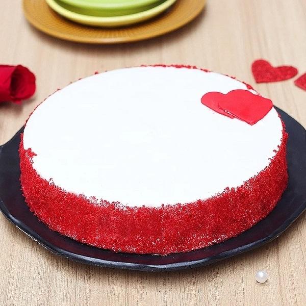 Red Velvet Little Heart Cake