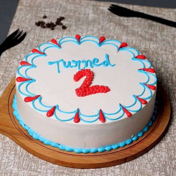 Twodles Birthday Cake