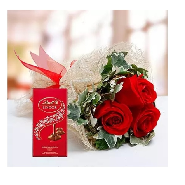 Red Roses and Lindt