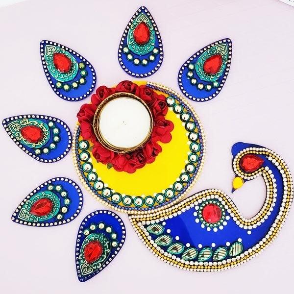 Peacock Diwali