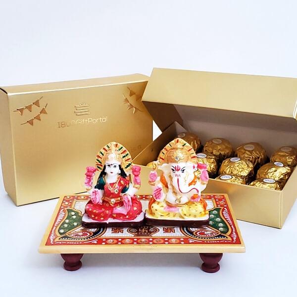 Lakshmi Ganesha with Ferrero