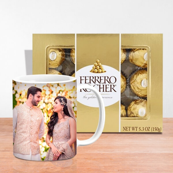 Romance Personalized Mug with Ferrero