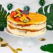 Vanilla Passion Fruit Cake