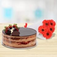 Chocolate Strawberry Combo