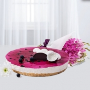 Cheesecake and Orchids