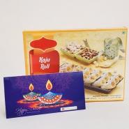 Diwali with Kaju Roll