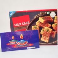 Diwali with Milk Cake