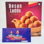 Diwali with Besan Laddoo