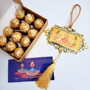 Diwali Hanging & Ferrero