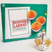 Boondi Laddoo with Stylish Ganesha