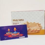Diwali with Kaju Katli
