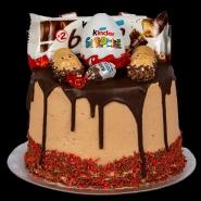 Deluxe Chocolate Hazelnut Wafer Cake