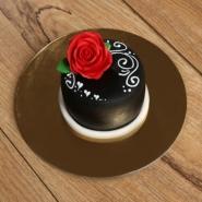 Designer Rose Mono Cake