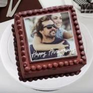 Love Photo Truffle Cake