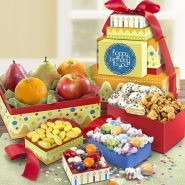 Happy Birthday Fresh Fruit and Sweets