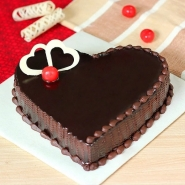 Heartbeat Chocolate Cake