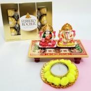 Lakshmi Ganesha Chowki Pack