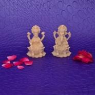 Laxmi N Ganesha In Dust