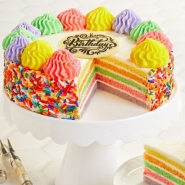Birthday Rainbow Cake