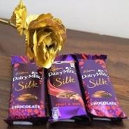 Golden silky Love