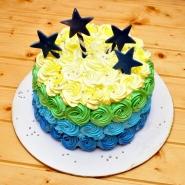 Star Rose Cake