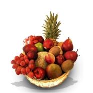 Super Deluxe Fruit Basket