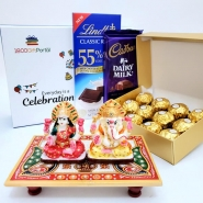 Diwali Blessings with Sweets
