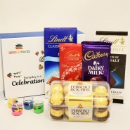 Diwali Wishes with Chocolates