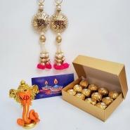 Diwali with Ganesha and Shubh Laabh