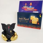 Elegant Ganesha with Soan