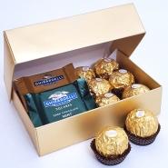 Ferrero & Ghirardelli in a box