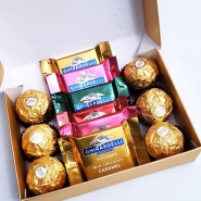 Ferrero & Ghirardelli Squares