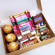 Ferrero, Ghirardelli & Mixed Chocos